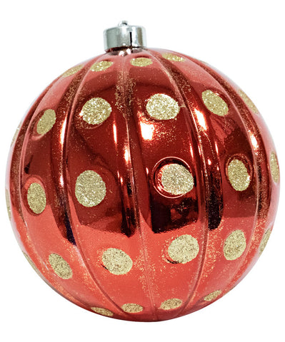 150 MM Christmas Ornaments (Dot Pattern)