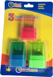 PENCIL SHARPENER 3PCS