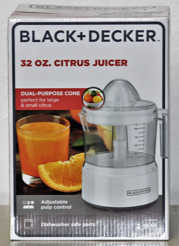Black & Decker 32oz Citrus Juicer