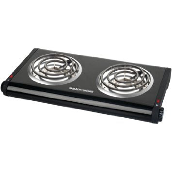 Black & Decker Electric Double Burner