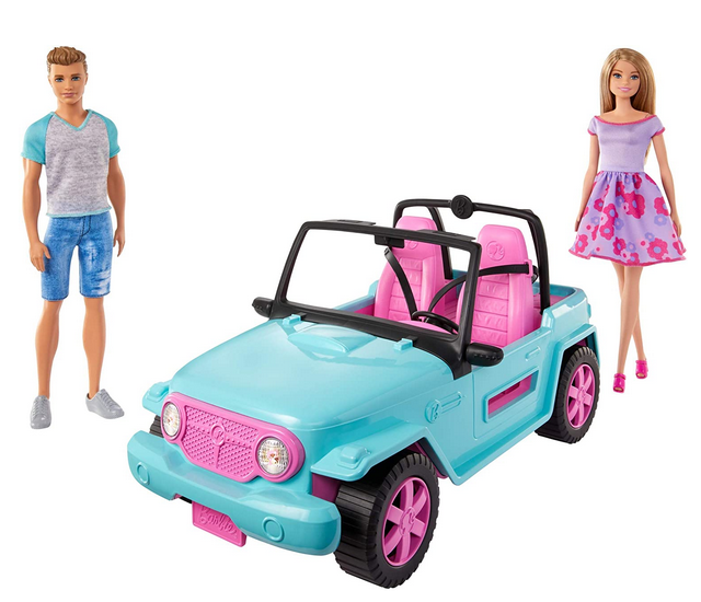 Barbie and Ken Vehicle