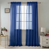 Celine Elegant Voile Single Panel  (variety of colors)