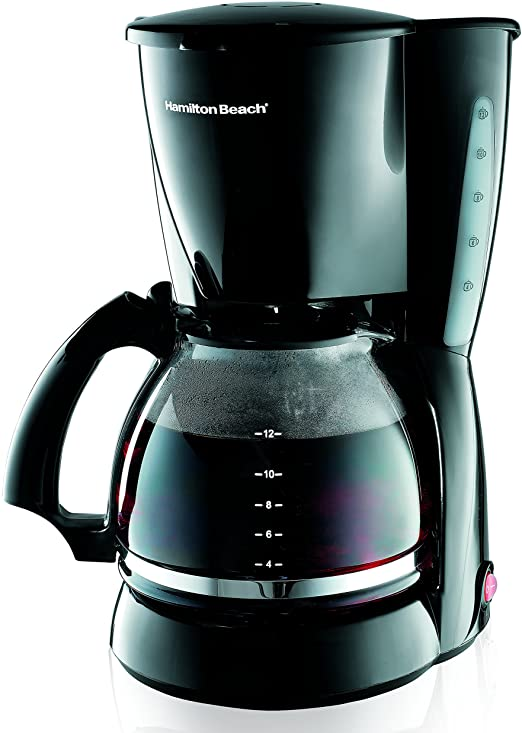 Hamilton Beach 12-cup Coffeemaker Black