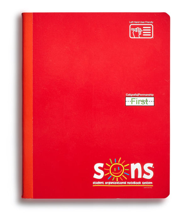 SONS 200-page Calligraphy Notebook [First]