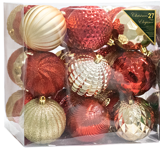 Assorted Ornament Christmas Collection 27 PK (EACH PACK SOLD SEPARATELY)