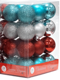 Ornament Christmas Collection 24 PK (EACH PACK SOLD SEPARATELY)