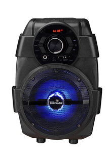 1500 W Digital Sunflash Portable Wireless DJ Speaker