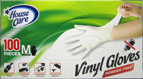 Vinyl Glove  (1-Pack of 100-Count)