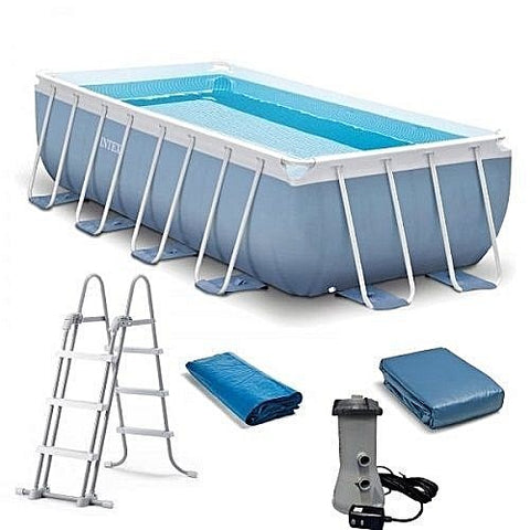 Intex 4m x 2m x 1m Prism Rectangular Pool