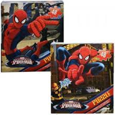 48 Piece-Puzzle Spider-Man