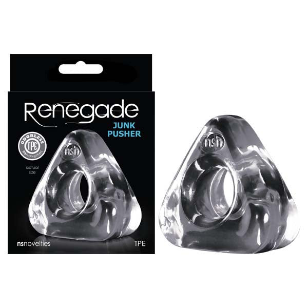 Renegade - Junk Pusher - Clear Cock Ring