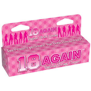 18 Again! - Vaginal Tightening Cream - 44 ml (1.5 oz) Tube
