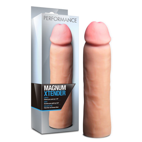 Performance Magnum Xtender - Flesh Penis Length & Girth Extension Sleeve