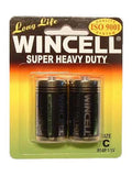 Wincell C Super Heavy Duty Batteries - Super Heavy Duty - C 2 Pack