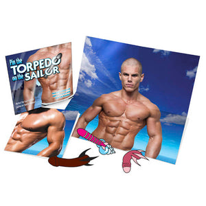 Pin The Torpedo On The Sailor - Hens Party Game