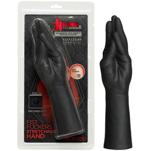 KINK Fist Fuckers - Stretching Hand - Black 29 cm (11.5'') Hand Dong