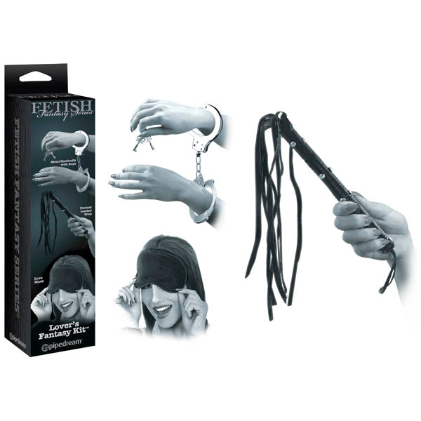 Fetish Fantasy Series Limited Edition Lover's Fantasy Kit - Bondage Kit - 3 Piece Set