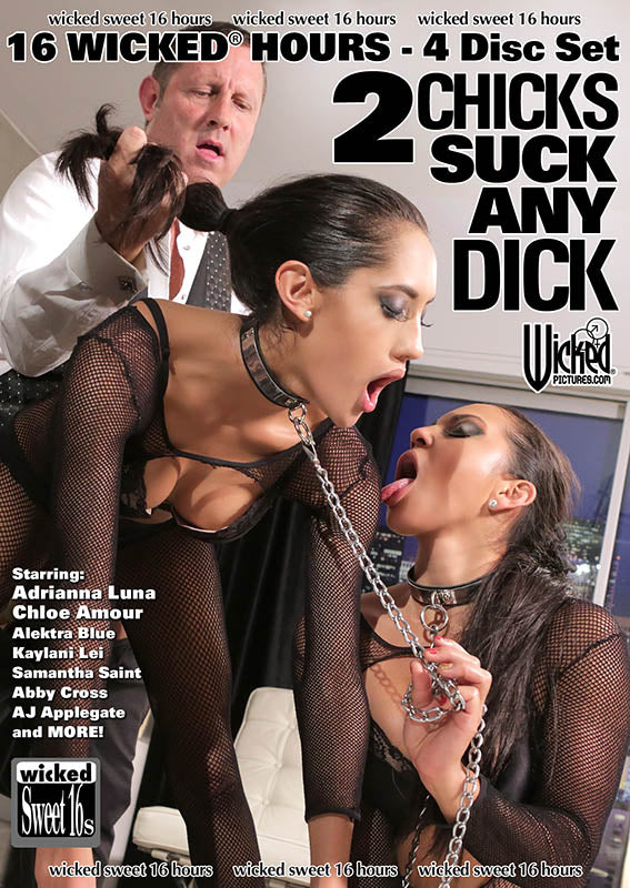 Wicked Sweet 16s - 2 Chicks Suck Any Dick - 16 Wicked Hours - 4 Disc Set
