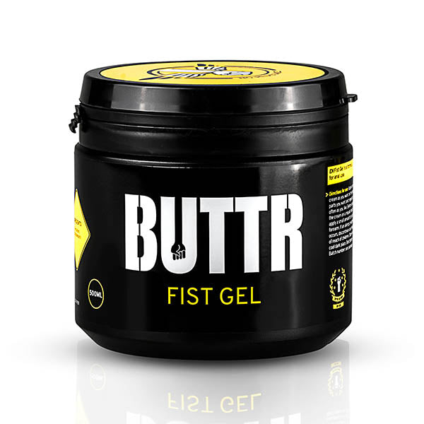 BUTTR Fist Gel - Water Based Fisting Gel Lubricant - 500 ml Tub