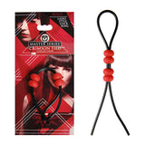 Master Series Crimson Tied Bolo - Lasso Style Adjustable Cock Ring