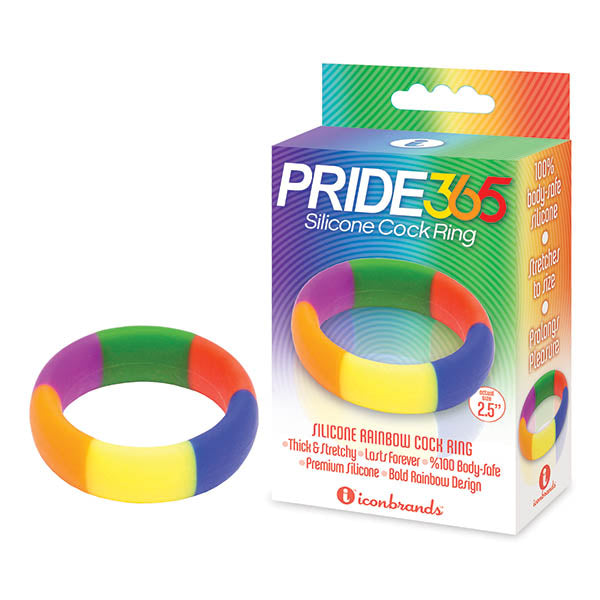The 9's Pride 365 - Rainbow Cock Ring