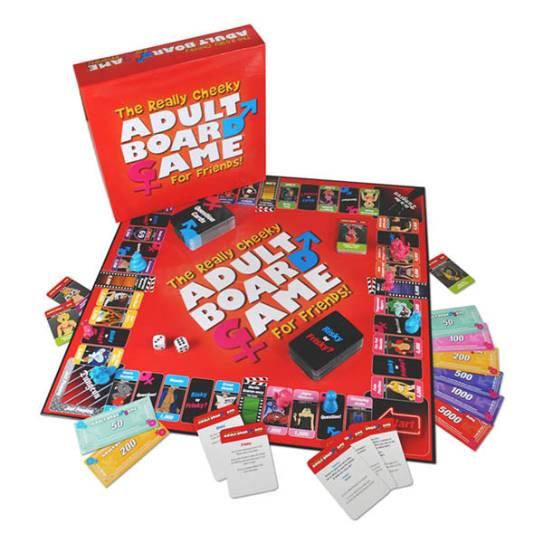 The Really Cheeky Adult Board Game For Friends - Adult Board Game