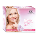 HOT INTIMATE Care Soft Tampons - 10 Pack