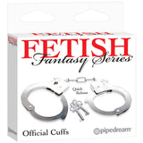 Fetish Fantasy Series Official Handcuffs - Metal Hand Cuffs