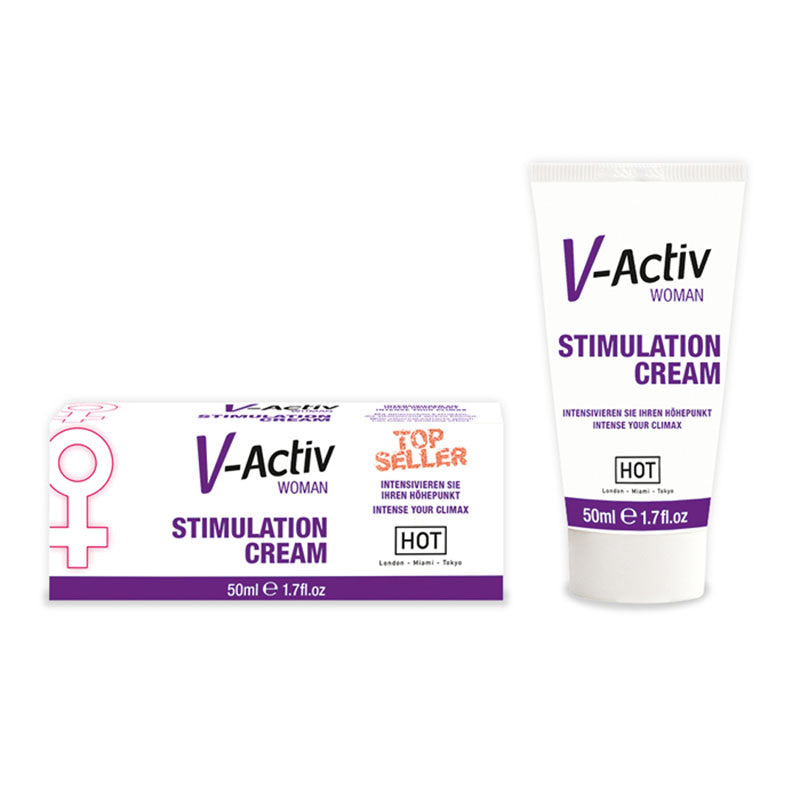 HOT V-activ Stimulation Cream - Enhancer Cream for Women - 50 ml Tube