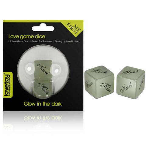 My First Love Dice - Glow in the Dark Dice Game