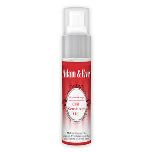 Adam & Eve Clit Sensitiser Gel - Strawberry Flavoured Female Enhancer - 29 ml (1 oz) Bottle