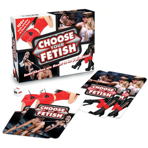 Choose Your Fetish - Couples Card Game
