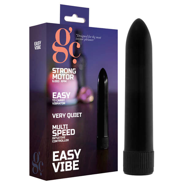 GC. Easy Vibe - Black 13.2 cm Vibrator