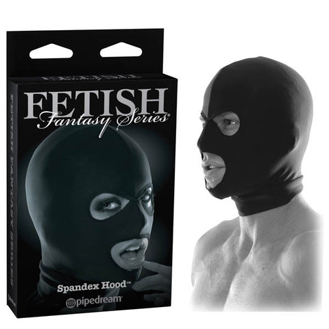 Fetish Fantasy Series Limited Edition Spandex Hood - Black Bondage Hood