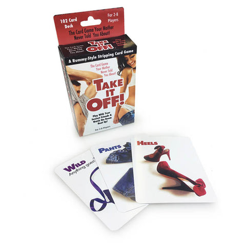 Take It Off! - Adult Party Card Game