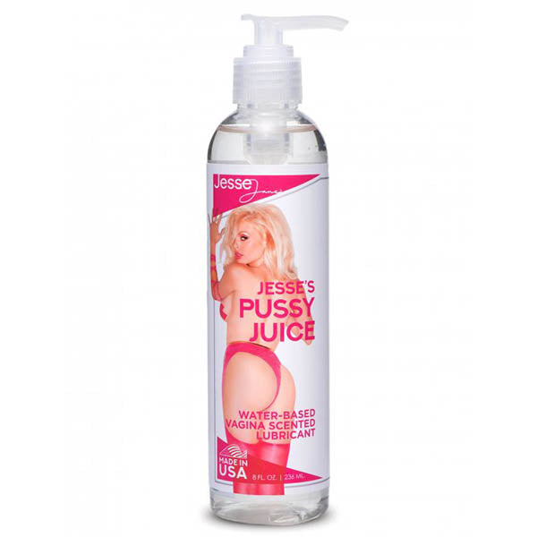 Jesse's Pussy Juice - Vagina Scented Water Based Lubricant - 236 ml