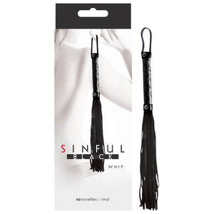 Sinful - Whip - Black Whip