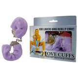 Love Cuffs - Purple Fluffy Skin Hand Cuffs