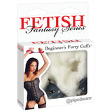 Fetish Fantasy Series Beginner's Furry Cuffs - White Fluffy Cuffs