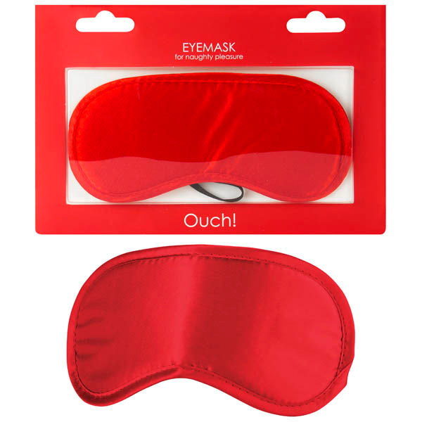 Ouch Soft Eyemask - Red Eye Mask