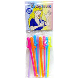 Dicky Sipping Straws - Coloured Straws - Set of 10