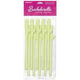 Bachelorette Party Favors - Dicky Sipping Straws - Glow in the Dark Straws - Set of 10
