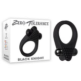 Zero Tolerance Black Knight - Black Vibrating Cock Ring