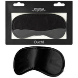 Ouch Soft Eyemask - Black Eye Mask