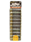 Wincell Aa Super Heavy Duty Batteries - Super Heavy Duty Batteries - AA 10 Pack