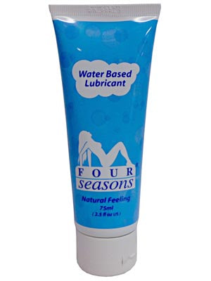Four Seasons Personal Lubricant - Water Based Personal Lubricant - 75 ml Tube
