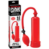 Pump Worx Beginner's Power Pump - Red Penis Pump