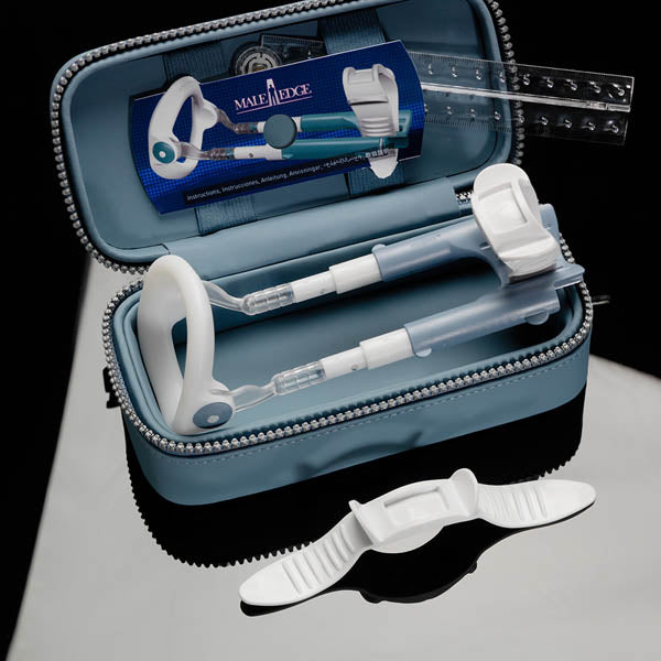 MaleEdge Basic Kit - Penis Enlarger Kit in Blue Case