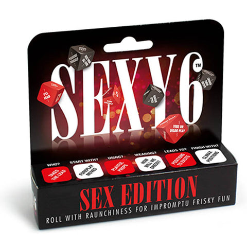 Sexy 6 - Sex Edition - Couples Dice Game