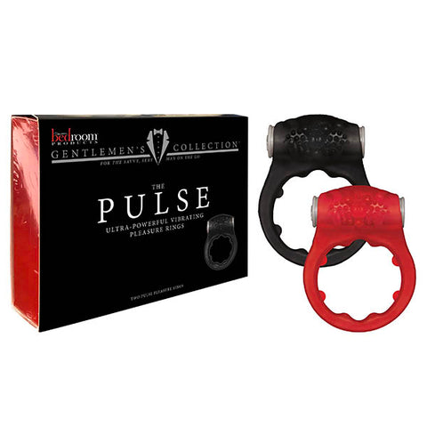 Bedroom Products Pulse - Vibrating Cock Rings - Set of 2
